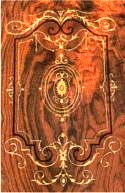 Burr Walnut Marquetry Panel