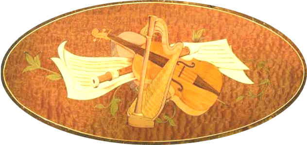 Musical Marquetry Motif