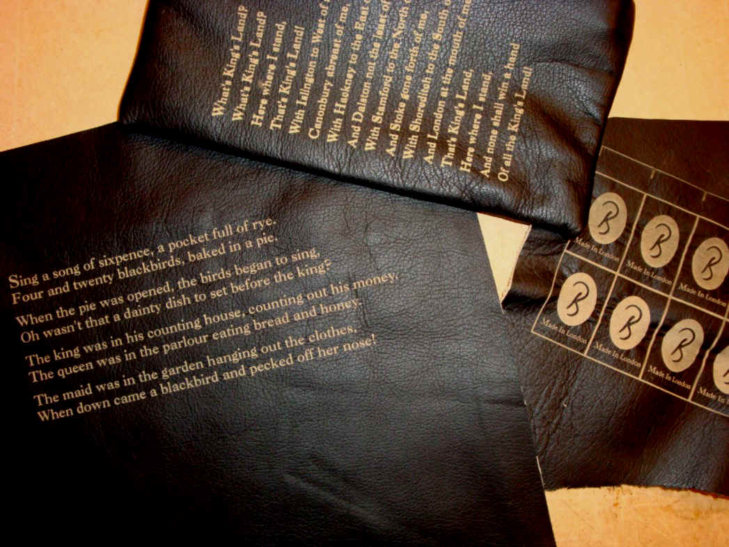 Laser engraved leather for Anita Gohil Bena Clothing