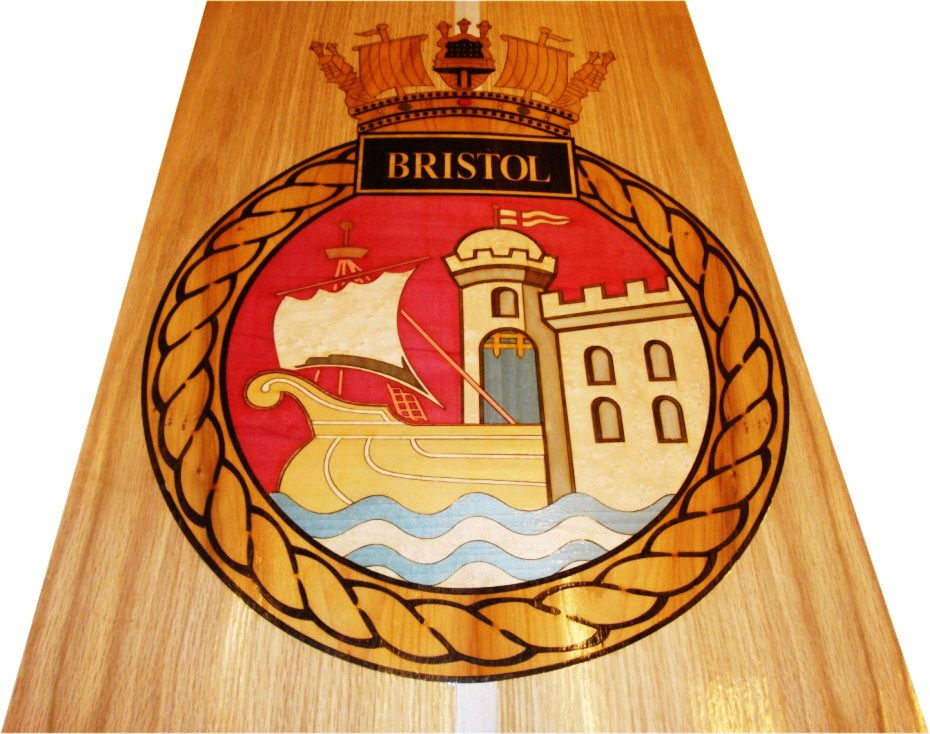 Crest commissioned for HMS Bristol